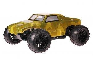 HSP 1zu10 Brushed Brontosaurus RC Monster Truck Army Green