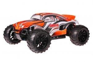 HSP 1zu10 Brushed Brontosaurus RC Monster Truck Baja Beetle Orange