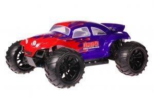 HSP 1zu10 Brushed Brontosaurus RC Monster Truck Baja Beetle Purple