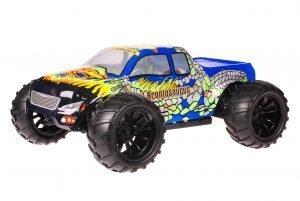 HSP 1zu10 Brushed Brontosaurus RC Monster Truck Blue Cobra