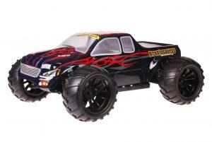 HSP 1zu10 Brushed Brontosaurus RC Monster Truck Dracul Red