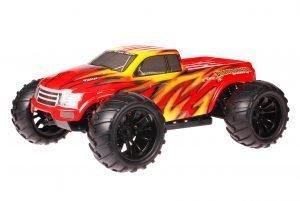 HSP 1zu10 Brushed Brontosaurus RC Monster Truck Fire Storm