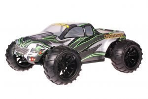 HSP 1zu10 Brushed Brontosaurus RC Monster Truck Green Carbon
