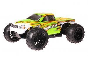 HSP 1zu10 Brushed Brontosaurus RC Monster Truck Green Venom