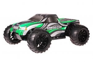 HSP 1zu10 Brushed Brontosaurus RC Monster Truck Grey Green