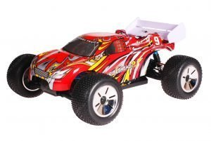 HSP 1zu10 Brushed Eamba RC Truggy Tribeshead 2 Red