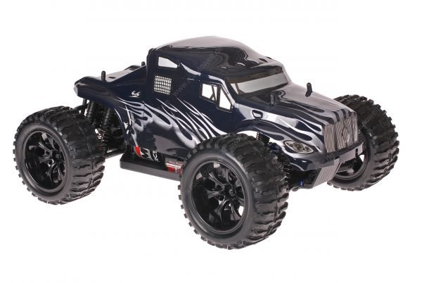 Himoto 1zu10 Brushed EMXT-1 RC Monster Truck American Truck Black