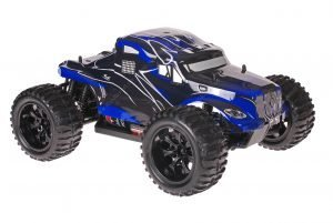 Himoto 1zu10 Brushed EMXT-1 RC Monster Truck American Truck Blue
