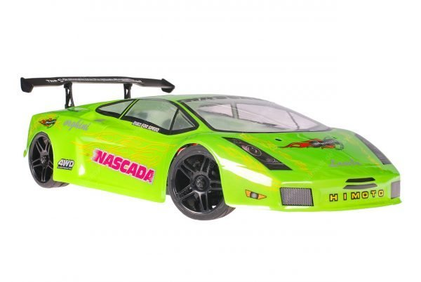 Himoto 1zu10 Brushed Nascada Onroad RC Auto Lamborghini Green