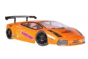 Himoto 1zu10 Brushless Nascada Onroad RC Auto Lamborghini Orange