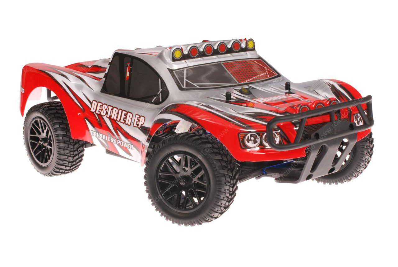 Himoto 1zu10 RC Short Course Truck Dracul Red