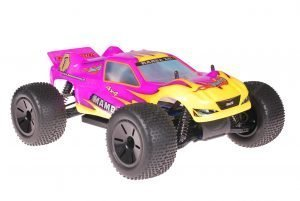 Himoto Eamba Truggy Pink Flames