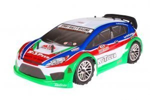 HSP 1zu10 Brushless Kutiger PRO RC Rally Auto Green Carbon